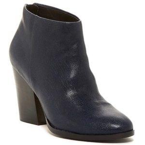 COLE HAAN - Navy Leather Booties - Never Worn